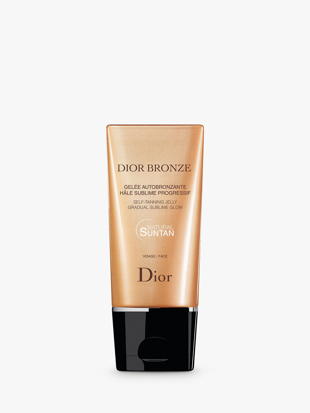 Гель для автозагара christian dior bronze self-tanning jelly face